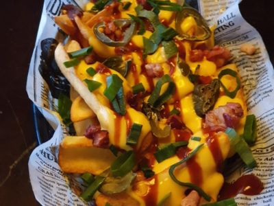 Cheesy Loaded Fries